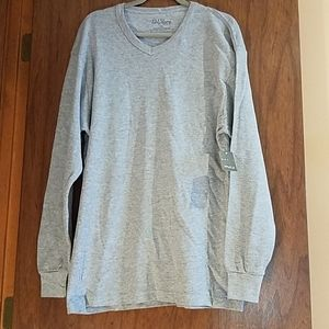 NWT.  Size 2XL.  Galaxy Thermal V-Neck Shirt